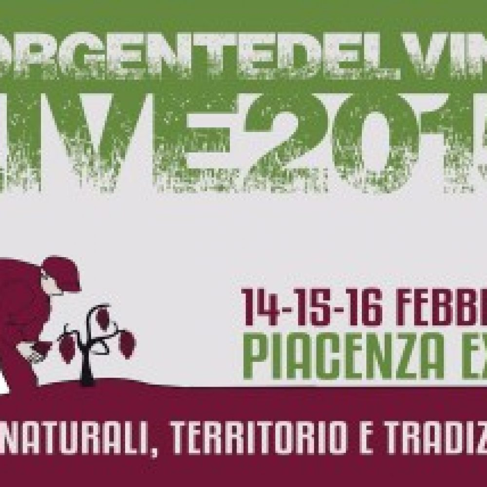 Sorgentedelvino LIVE 2015 – PIACENZA EXPO