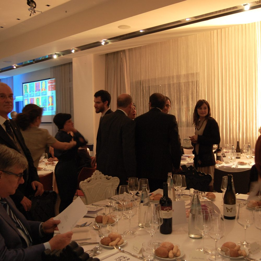 I vini Ausonia alla cena annuale dell'IBL