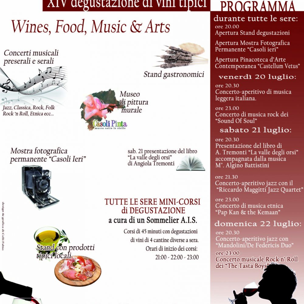 """July the 20- 21- 22 """"Momenti Di… Vini"""" 2012 Casoli di Atri"""